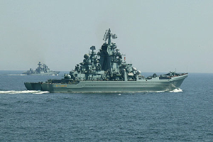 Tactical exercises of the Russian Navy